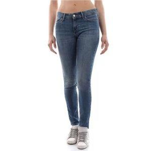 Levi's 711 Skinny Jeans Denim Sz:27 (27x30)